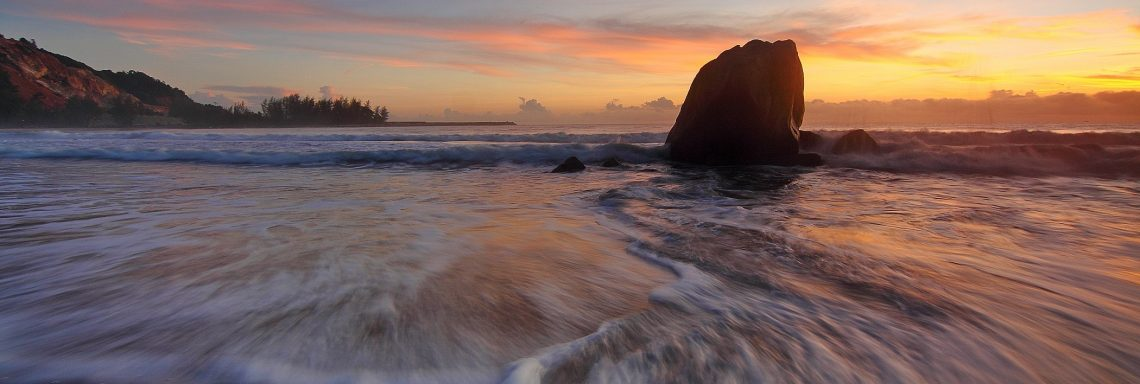 Sunset Waves Relaxation